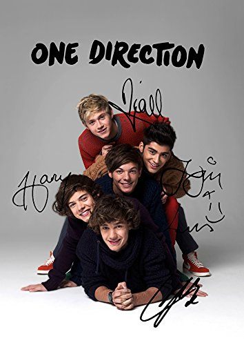 One Direction 1D (11.7 X 8.3) Pop Music Print Niall Horan Harry Styles Zayn Louis Liam (One Direction Poster Zayn compare prices)