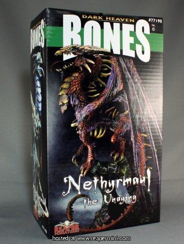 Grim Reaper miniature 77,190 Bones - Nethyrmaul
