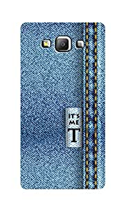 SWAG my CASE Printed Back Cover for Samsung Galaxy A7
