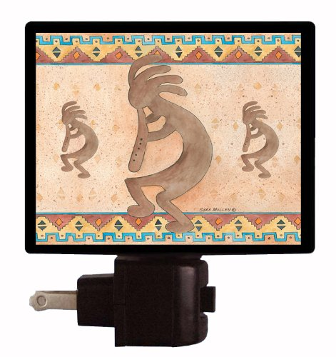 Southwest Night Light - Kokopelli Tile