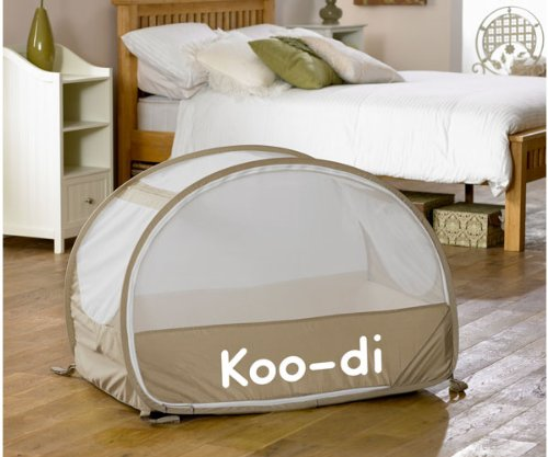 Review Of Koo-di Baby Bubble Travel Cot - Cafe Creme