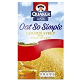 Quaker Oatso Simple Golden Syrup porridge porrage cereal 10X36g - Pack of 9
