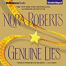 Genuine Lies Audiobook by Nora Roberts Narrated by Joyce Bean