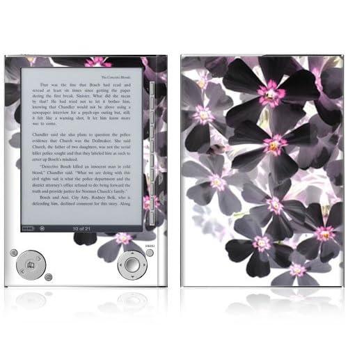 Asian Flower Paint Design Protective Decal Skin Sticker for Sony Digital Reader Pocket PRS 505