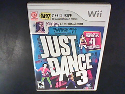 Just Dance 3 with Katy Perry Bonus Tracks for Wii - 1