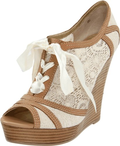 Seychelles Women's Harmony Wedge Pump,Natural,8.5 M US