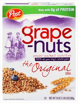 Post Grape-Nuts Cereal 24 oz
