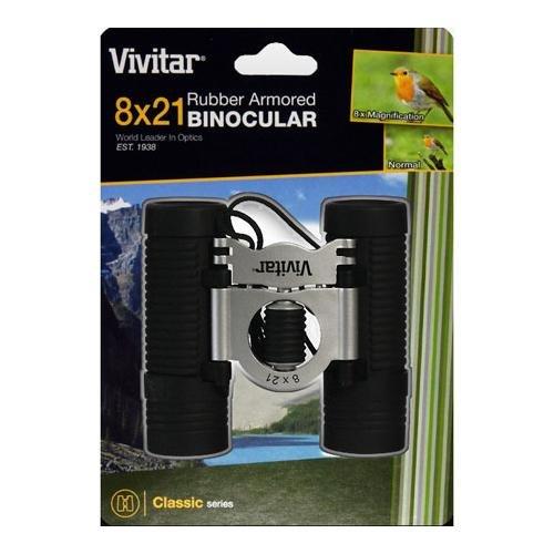 Vivitar Classic Series VIV-CS-821 8x21 Dual Barrel Binoculars