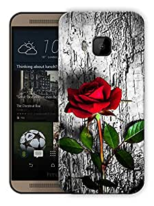 """Humor Gang Roses In Wild Printed Designer Mobile Back Cover For """"HTC ONE M9"""" (3D, Matte, Premium Quality Snap On Case)"""