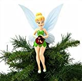 Disney Store Christmas Tinkerbell Tree Topper 10 Lights up Tinker Bell