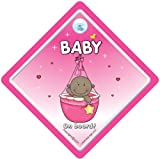 Baby on Board Car Sign Grandchild on Board baby Car Sign Pink Basket Black Baby Baby on Board Sign Baby on Board Black Baby On Board Decal Bumper Sticker Baby Sign Baby Car Sign Paternity Maternity Pregnancy New Baby Baby on Board Car Sign