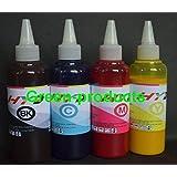 InkrefillableTM 400 ml Pigment sublimation bulk ink for Epson printer cartridges 60 68 69 73 88 124 125 126 127 200 220 252