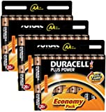 Duracell MN1500 Plus Power AA Size Batteries--Pack of 60