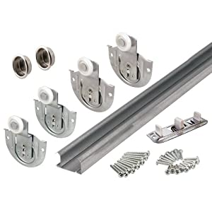 Prime-Line Products 163590 Bypass Closet Track Kit, 60-Inch