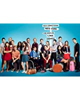 Glee Poster 24x36 inches Lea Michele Jane Lynch Dianna Agron High Quality Gloss Print 117