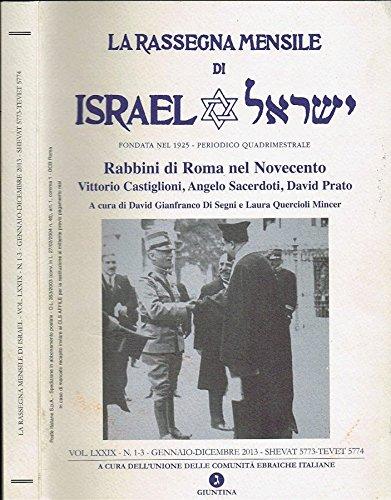 rabbini-di-roma-nel-novecento-vol-lxxix-vittorio-castiglioni-angelo-sacerdoti-david-prato
