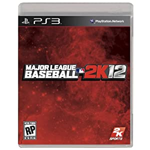 Major League Baseball 2K12 PS3 Video Game