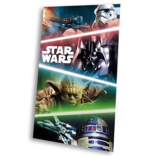 Disney Star Wars Plaid in PILE Coperta Bambina 150x 100