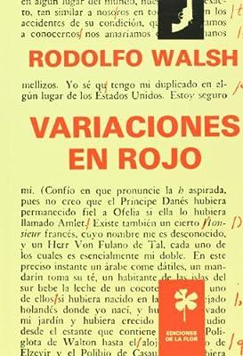 Variaciones en rojo / Red Variations (Spanish Edition)