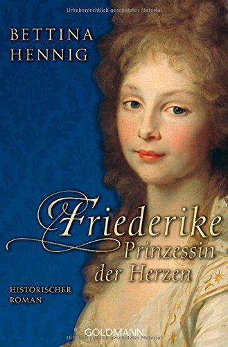 Buchseite und Rezensionen zu 'Friederike' von Bettina Hennig