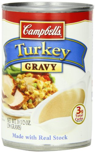 Campbell's Turkey Gravy, 10.5 Ounce Cans (Pack of 12)
