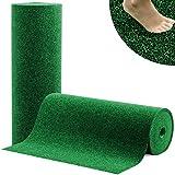 Moquette d'extérieur casa pura® Spring vert au mètre | tapis type gazon artificiel - pour jardin, terrasse, balcon etc. | revêtement de sol outdoor | 100x200cm
