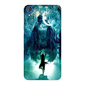 Special Power Shiva Back Case Cover for HTC Desire 820