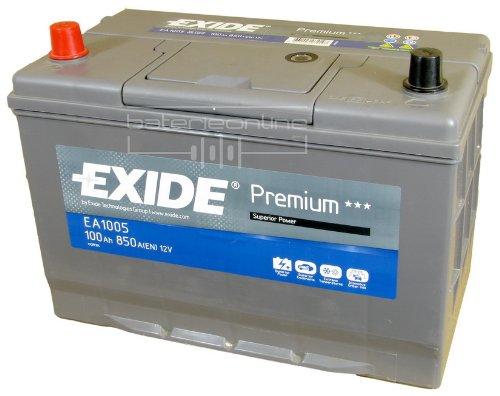 Exide Premium Superior Power EA1005 100Ah Autobatterie