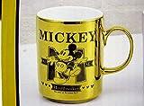 ディズニー ミッキーマウス シャイニーマグ ゴールド
