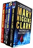 Mary Higgins Clark 4 Books Collection Set RRP £27.96 (Moon Light Becomes You, Where are you now?, Dashing Through the Snow, On The Street, Where You Live) Mary Higgins Clark