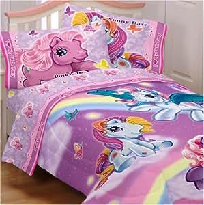 my little pony comforter sheet set twin. Black Bedroom Furniture Sets. Home Design Ideas