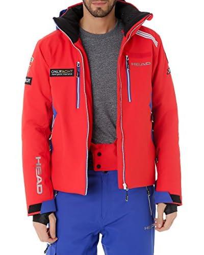 HEAD Ski-Jacke 821445 rot/blau