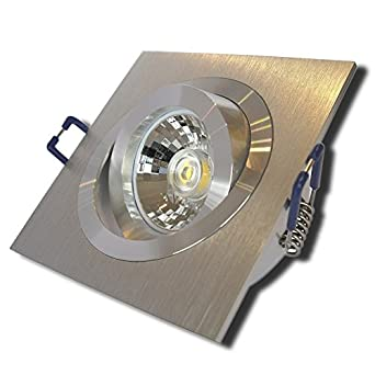 2x 3er Pack LED Flur Beleuchtungen Einbau Strahler Wohnzimmer Lampen Leuchten