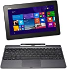 ASUS Transformer Book T100TAM-H2-GM 10.1 Detachable 2-in-1 Touchscreen Laptop, 64GB+500GB (Grey Metal)