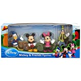 Disney > Mickey and Friends - Donald Duck, Mickey, Minnie Mouse, and Goofy Figure Set