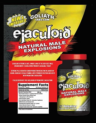 Natural Male Explosions # 1 Volumizer 60 capsules