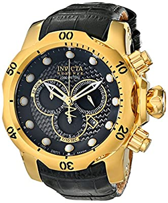 Invicta Men's 15464 Venom Analog Display Swiss Quartz Grey Watch