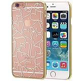EDGEi Heartline エッジハートライン iPhone 6s/6(4.7インチ)アイフォンケース (ゴールドハートライン)