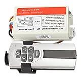 Vktech Wireless Remote Control Digital Remote Control Switch Lightswitch (4.0)
