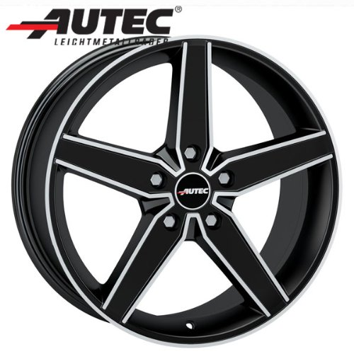 Alufelge-Autec-DELANO-Honda-Civic-FK3-Modell-2012-75-x-17-Schwarz-matt-poliert