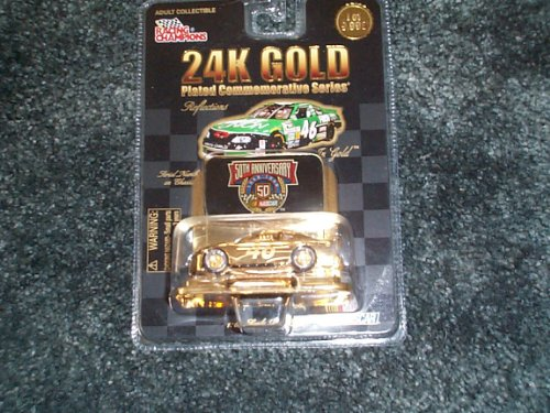 Racing Champions 24K Gold plated #46 First Union commemorative series 50th anniversary nascar 1/64 scale - 1