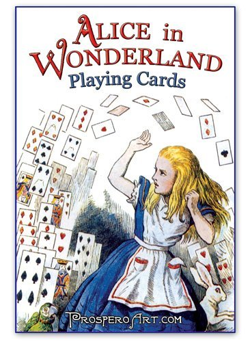 Alice In Wonderland Playing Cards - Blue Back Deck - 1