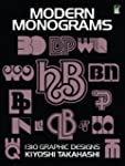 Modern Monograms: 1310 Graphic Designs