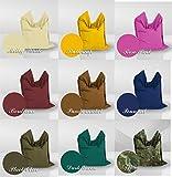 XXL (200x140cm) Sitzsack Sitzkissen Farbauswahl aus 9 Farben In&Outdoor + 430L EPS Perlen von BigFit