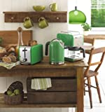 Kenwood kMix Boutique 2-Slot Toaster, Bright Green