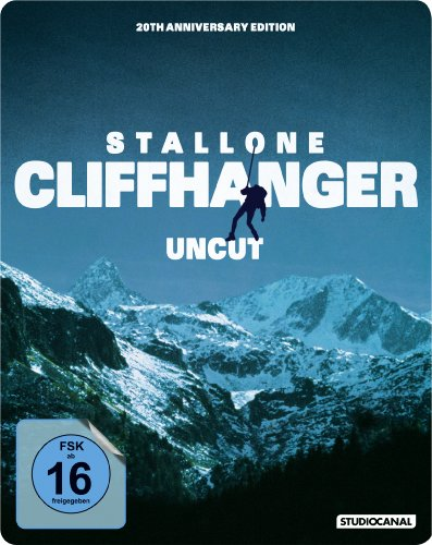 Cliffhanger - Steelbook (Uncut, 20th Anniversary Edition) [Blu-ray]