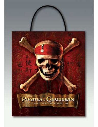 girls - Kids-Pirate Carr Treat Bag 24=1 Halloween Costume