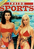 Julie Mccullough/Kristian Alfonso Signed Inside Sports 8X11 Photo #X99