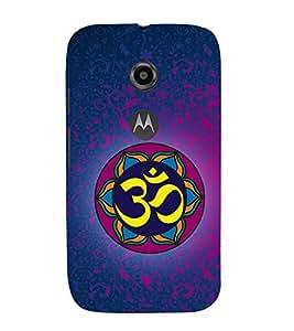 Om Mantra 3D Hard Polycarbonate Designer Back Case Cover for Motorola Moto E2 :: Motorola Moto E (2nd Gen)