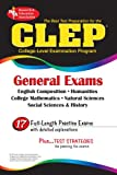 img - for CLEP General Exam (REA) - The Best Test Prep for the CLEP General Exam (CLEP Test Preparation) book / textbook / text book